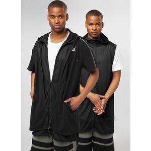 Puma Xtreme 2 in 1 Black Full Zip Jacket Hoodie